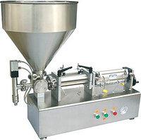 Настольный поршневой дозатор для пастообразных продуктов HUALIAN PPF-1000T