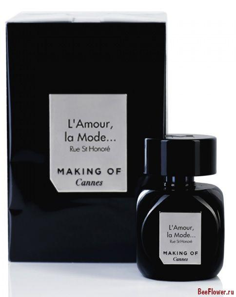Making Of Cannes L'Amour la Mode Rue St Honore 75ml edp