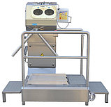 Санпропускник с модулем дезинфекции рук и чистки подошв 10.4011.00, фото 5
