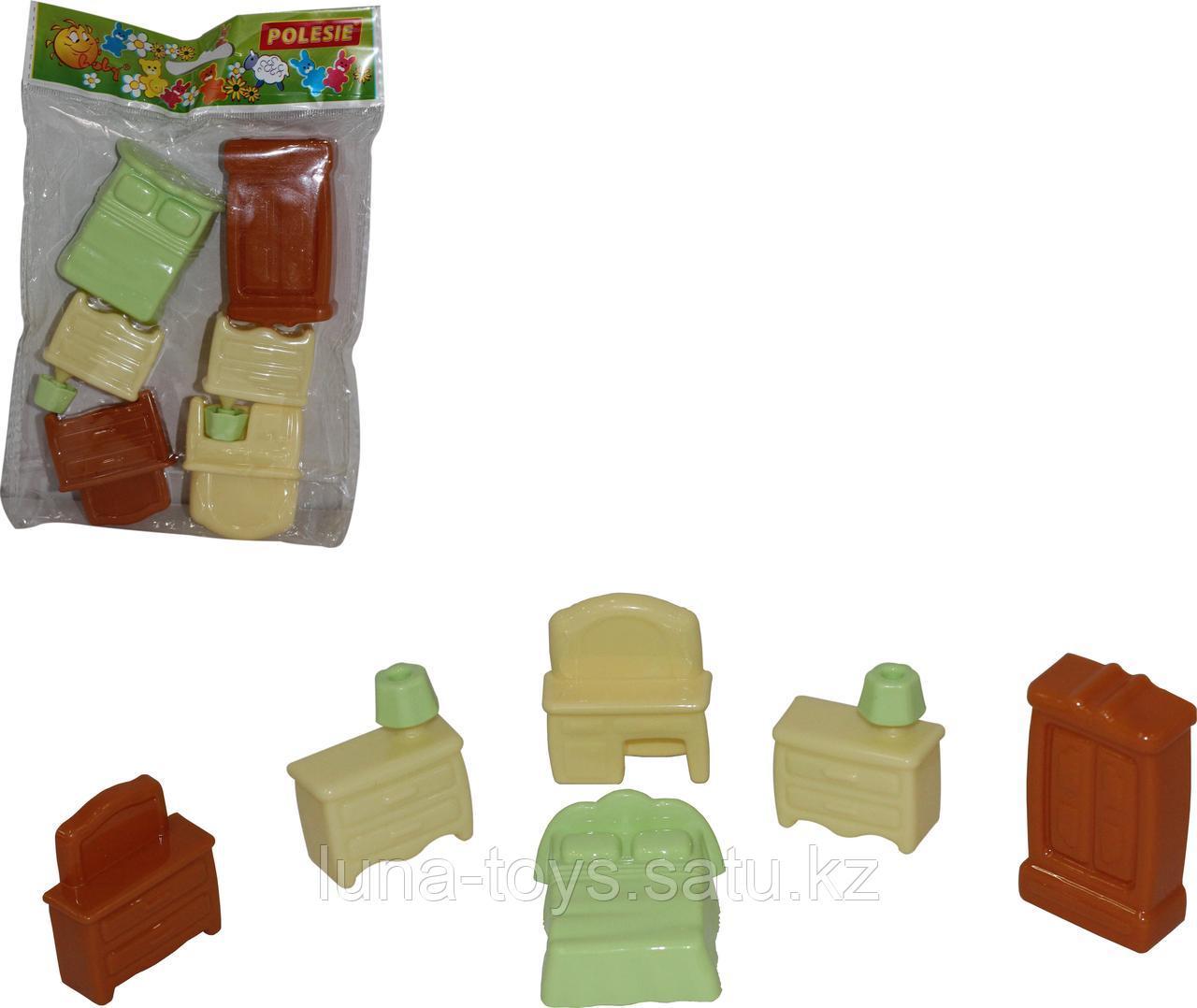 Набор мебели для кукол №1 (6 элементов в пакете)