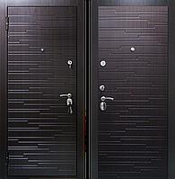 Входная металлическая дверь Премиум Грей венге
