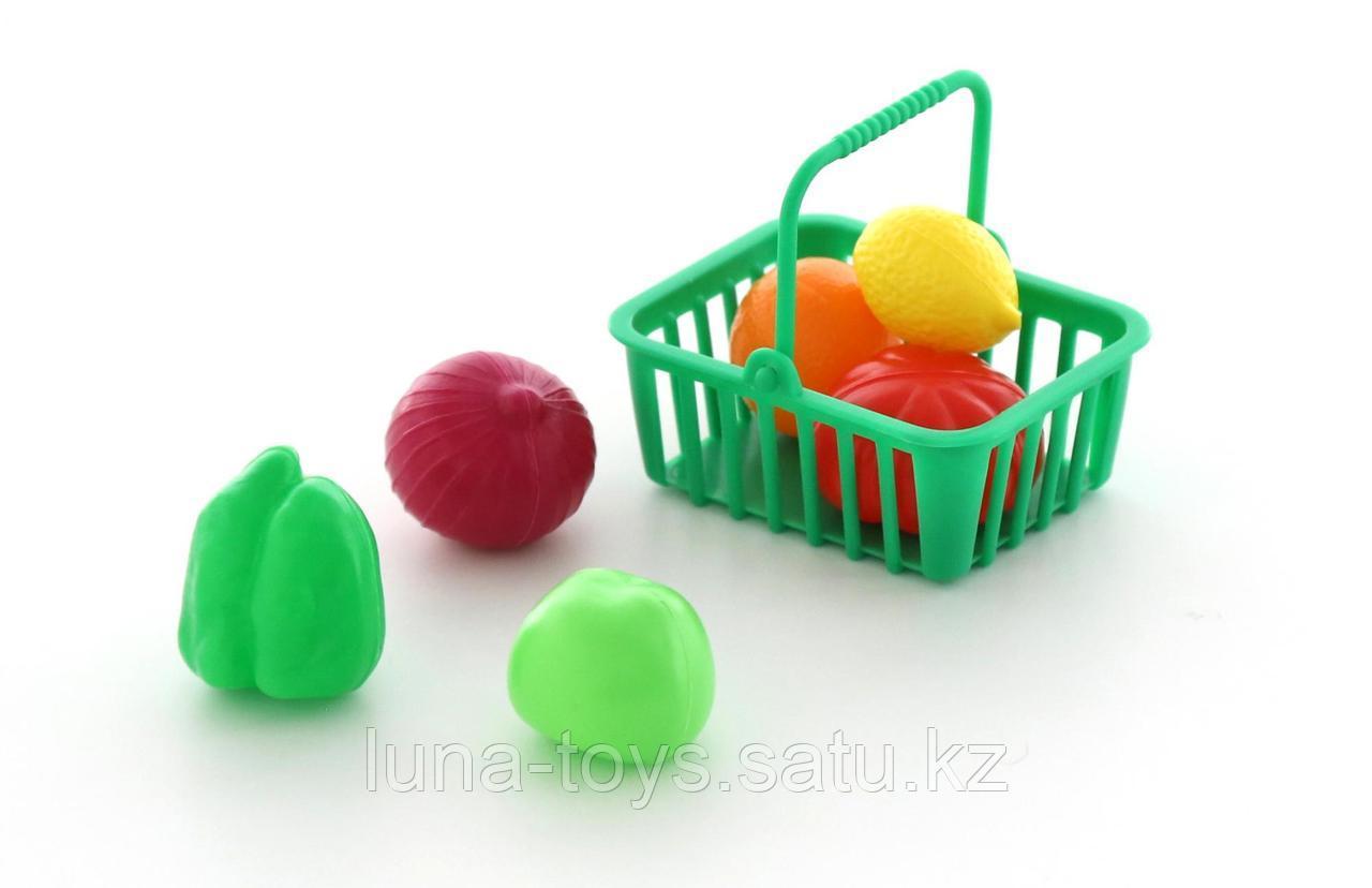 Набор продуктов №13 с корзинкой (7 элементов) (в пакете)