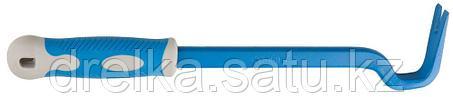 Гвоздодер с обрезиненной рукояткой, 430 мм, 22х12 мм, ЗУБР, фото 2