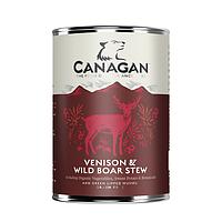 CANAGAN полнорационный влажный корм для собак, рагу из оленины и дикого кабана 400г