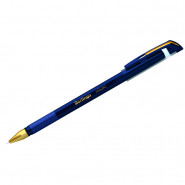 """Ручка шариковая Berlingo """"x Cold"""" синяя, игольчатый стержень, 0,7 мм, грип"""