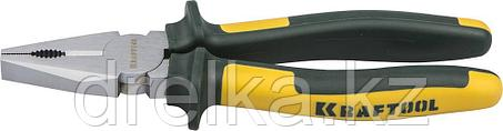 """Плоскогубцы KRAFTOOL""""KRAFT-MAX"""" комбинированные, Cr-Mo, маслобензост двухкомп рукоятки, фото 2"""