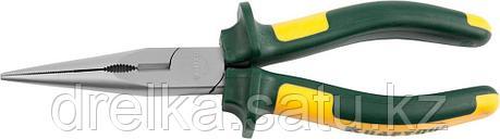 """Тонкогубцы KRAFTOOL""""KRAFT-MAX"""",Cr-Mo,маслобензост двухкомп рукоятки,шарнирное соединение с повыш износост,200м, фото 2"""