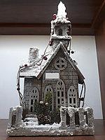 Деревянный домик СНГ0020