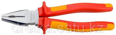 """Плоскогубцы """"ELECTRO-KRAFT"""", Cr-Mo сталь, двухкомпонентная маслобензостойкая рукоятка, хромированное покрытие, фото 2"""