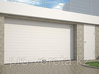 Гаражные секционные ворота с пружинами растяжения RSD01