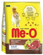 Me-O Говядина и овощи (400г) Сухой корм для взрослых кошек