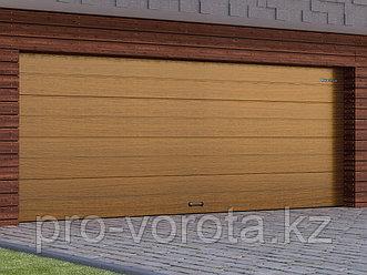Гаражные секционные ворота с торсионным механизмом  RSD02