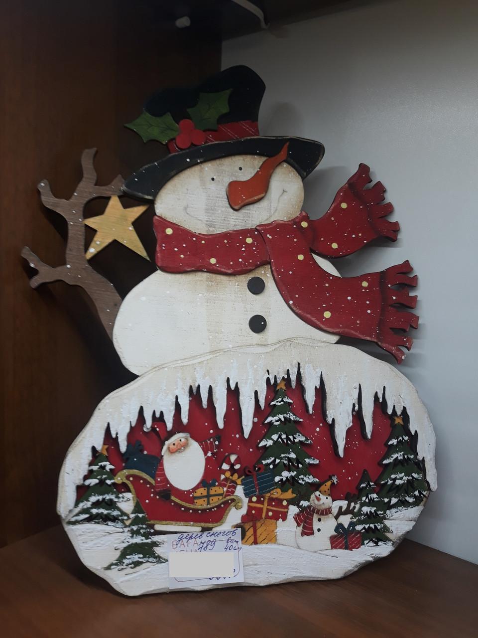 Снеговик СНГ0036
