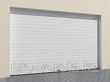 Гаражные секционные ворота с однослойных панелей с торсионным механизмом RSD02-SLP
