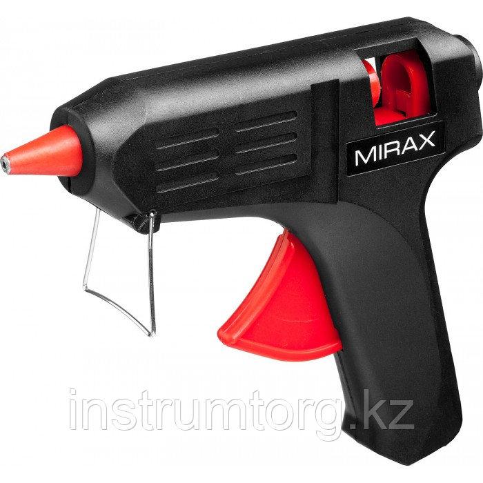 MIRAX. Пистолет клеевой (термоклеящий) электрический, 60Вт/220В, 11мм