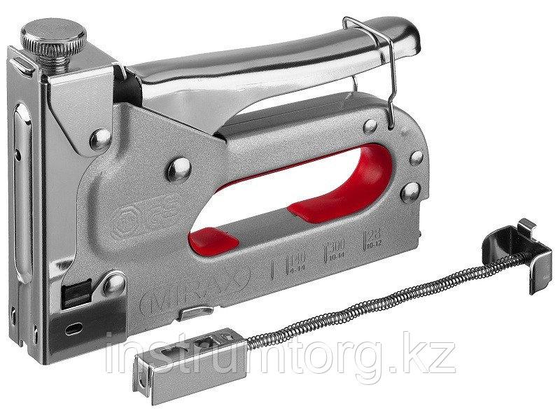 Степлер для скоб 3-в-1: тип 140 (4-14 мм) / 300 (10-14 мм) / 28 (10-12 мм), MIRAX