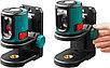 KRAFTOOL CL 20 #2 нивелир лазерный, 20м, IP54, точн. +/-0,2 мм/м, держатель, фото 2