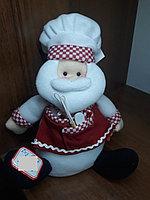Кукла санта повар СНГ0075