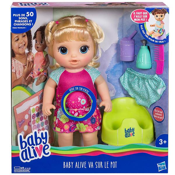 "Baby Alive Кукла Блондинка ""Танцующая Малышка"" E0609 Hasbro"