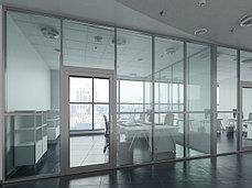 Алюминиевые системы офисные перегородки