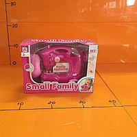 Игрушечная интерактивная Швейная машинка розовая