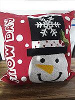 Подушка снеговик СНГ0099