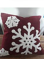 Подушка снежинка СНГ0102