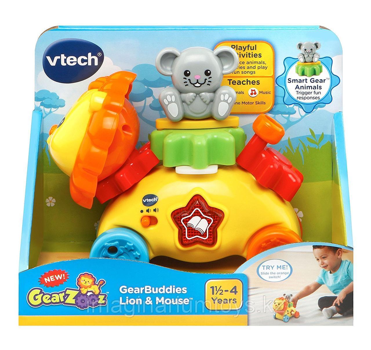 Интерактивная развивающая игрушка «Львенок с мышонком» VTech