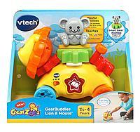 Интерактивная развивающая игрушка «Львенок с мышонком» VTech, фото 1