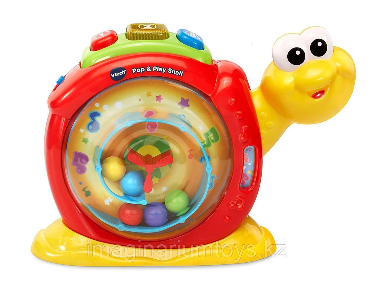 Интерактивная развивающая игрушка «Веселая улитка» VTech