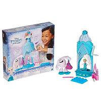 Игрушка Hasbro Принцессы Дисней (Disney Princess) замок Эльзы сделай волшебный снег