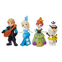 Игрушка Hasbro Принцессы Дисней (Disney Princess) маленькие куклы Холодное сердце в ас-те