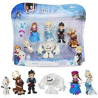 Игровой набор Hasbro Принцессы Дисней (Disney Princess) маленьких кукол ХОЛОДНОЕ СЕРДЦЕ для коллекционеров