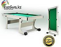 Бильярдный стол складной Компакт Лайт 5ф/6ф РП, фото 1