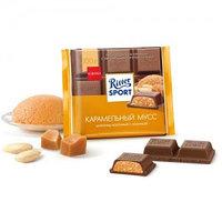 Ritter Sport шоколад молочный Карамельный мусс, 100 гр