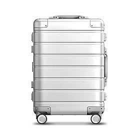 Чемодан, Xiaomi, XNA4026RT, Metal Trolley Case 20'' , Алюминиево-магниевый сплав, Серебристый