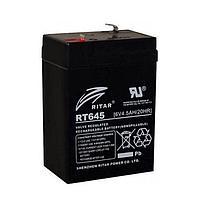 Аккумулятор Ritar RT645 (6В, 4,5Ач)