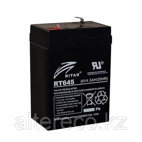 Аккумулятор Ritar RT645 (6В, 4,5Ач), фото 2