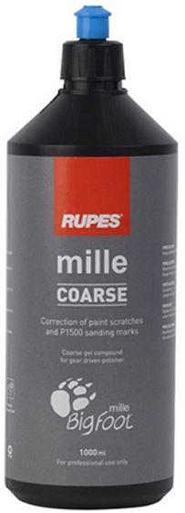 Полировальная паста грубая Mille Coarse для машинок с зубчатой передачей Rupes