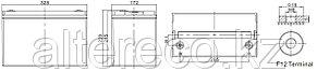 Аккумулятор Challenger G12-100 (12В, 100Ач), фото 2