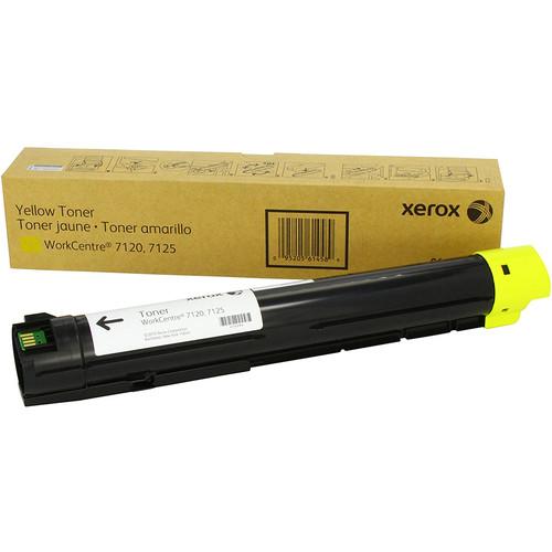 Тонер-картридж Xerox WorkCentre 7120/7125/7220/7225 Yellow