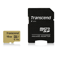 Transcend TS16GUSD500S flash карта (TS16GUSD500S)