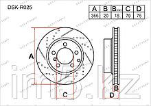 Тормозные диски Land Rover Range Rover. III пок. 2002-2012 4.2i V8 Turbo / 4.4i V8 / 5.0i