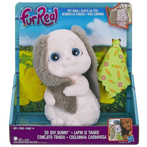 Игрушка интерактивная Hasbro Furreal Friends Пушистый кролик