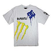 Футболка Monster Energy с логотипом Subaru