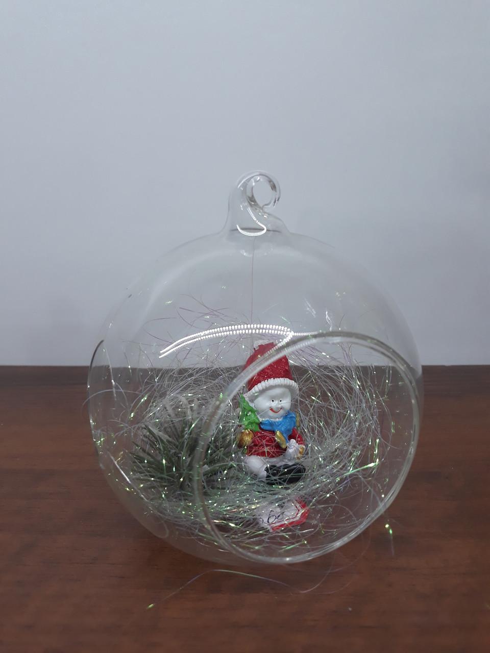 Игрушки на ёлку вазочка СНГ0187