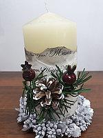 Новогодняя свеча СНГ0193