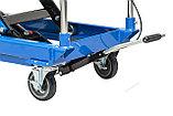 Подъемный стол гидравлический тележка (подъемная платформа), г/п 750 кг, фото 3