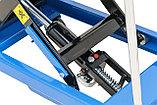 Подъемный стол гидравлический тележка (подъемная платформа), г/п 750 кг, фото 4