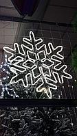 """Светодиодная неоновая """"Снежинка"""" для улицы 90x90 см, фото 1"""